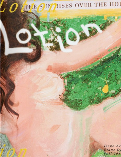 Lotion Issue 2 Cover